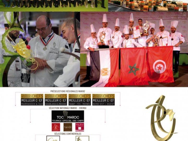 Tenue des concours Africains et régionaux des chefs de cuisine 2016 au Palmeraie Resorts Marrakech