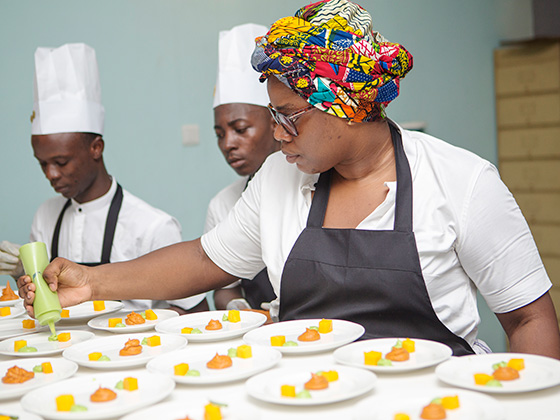Chefs in Africa Kitchen and Party Abidjan
