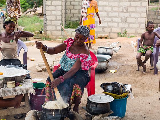 Ghana Food Culture with Chef Binta and Chef Malonga