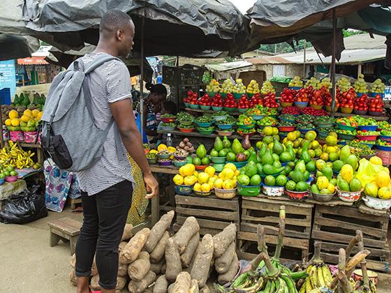 Ivory Coast food Culture with chef Malonga